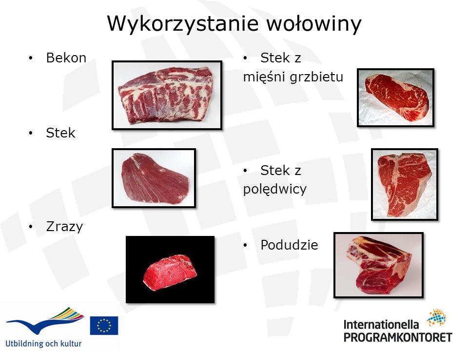 Wykorzystanie wołowiny