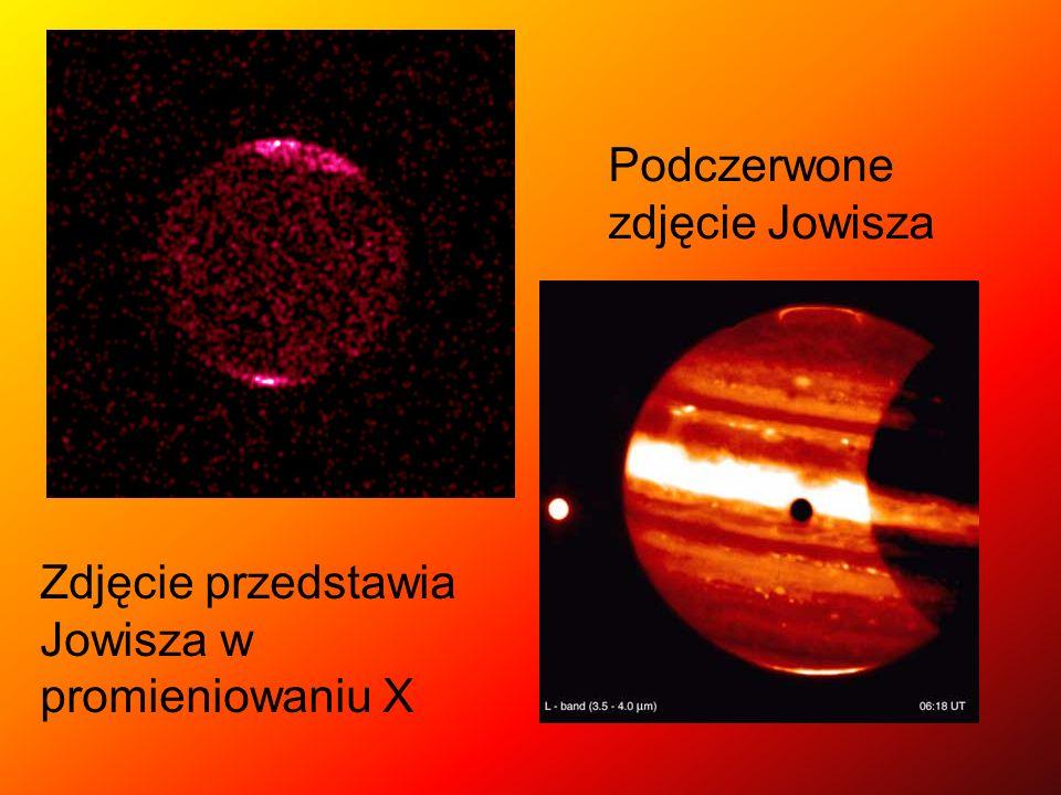 Podczerwone zdjęcie Jowisza