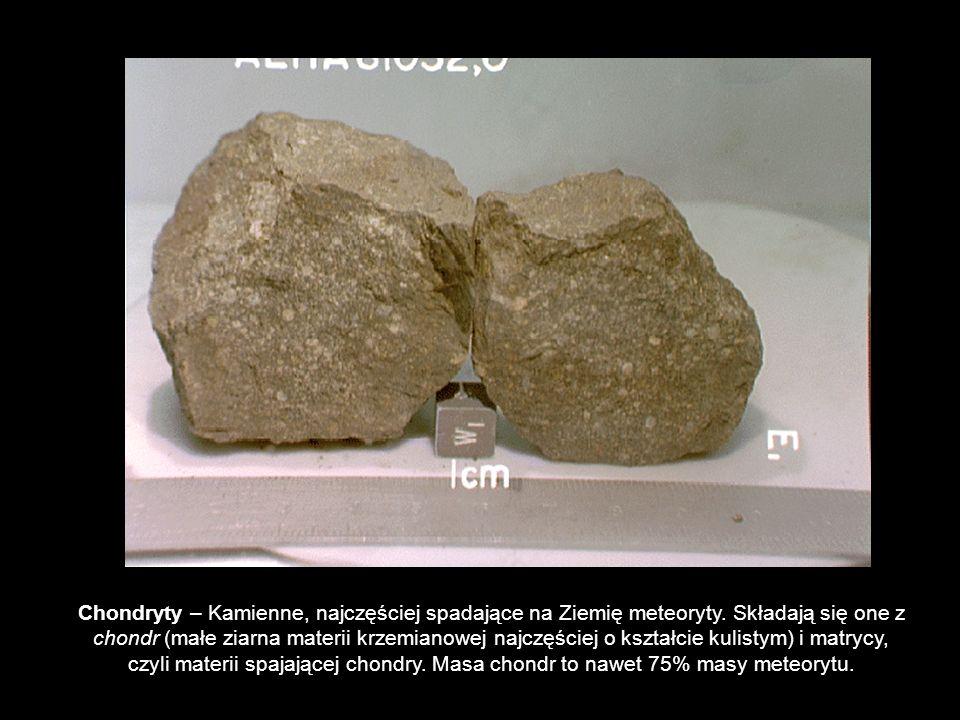 Chondryty – Kamienne, najczęściej spadające na Ziemię meteoryty