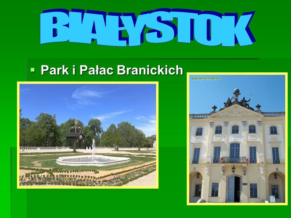BIAŁYSTOK Park i Pałac Branickich