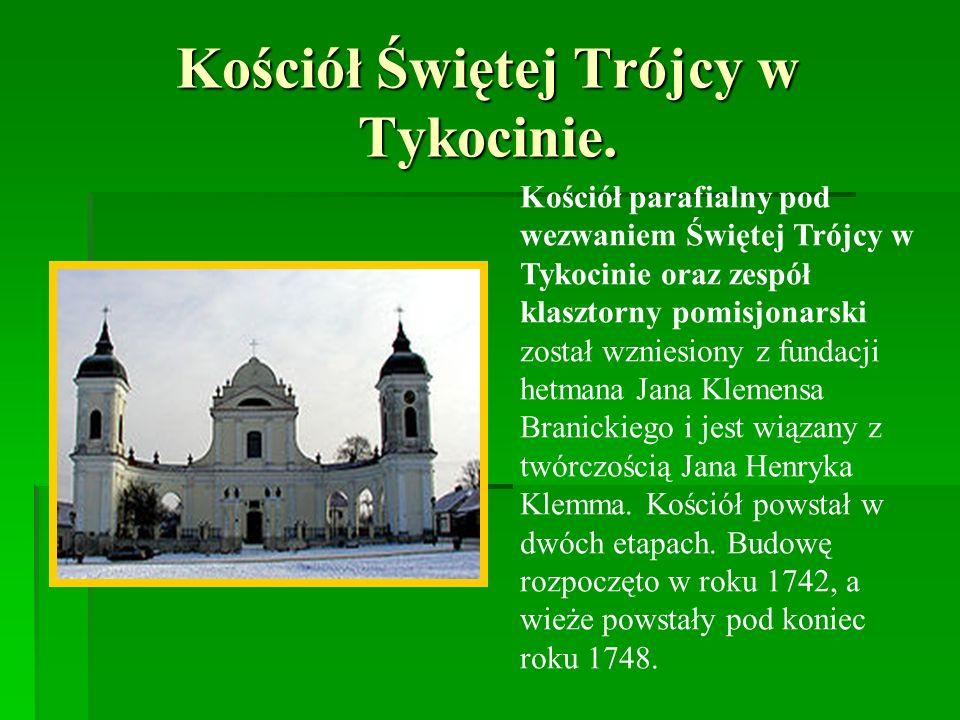 Kościół Świętej Trójcy w Tykocinie.
