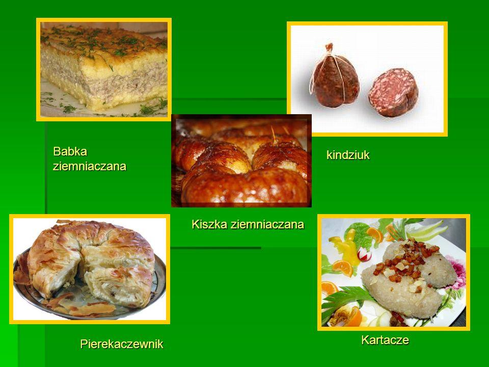 Babka ziemniaczana kindziuk Kiszka ziemniaczana Kartacze Pierekaczewnik