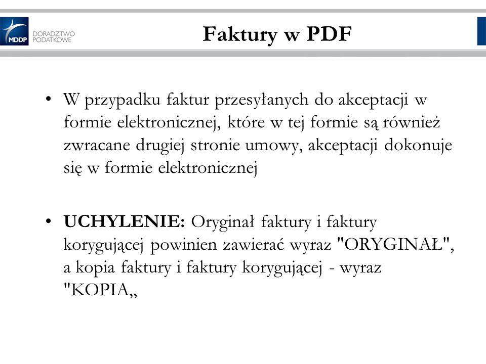 Faktury w PDF