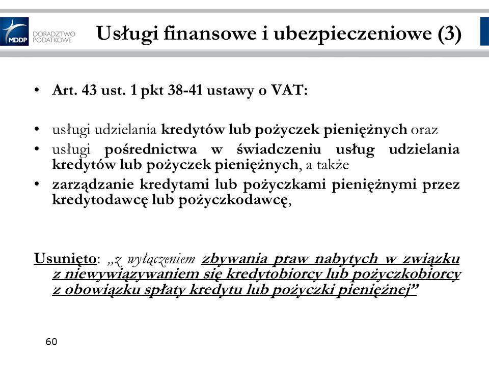 Usługi finansowe i ubezpieczeniowe (3)