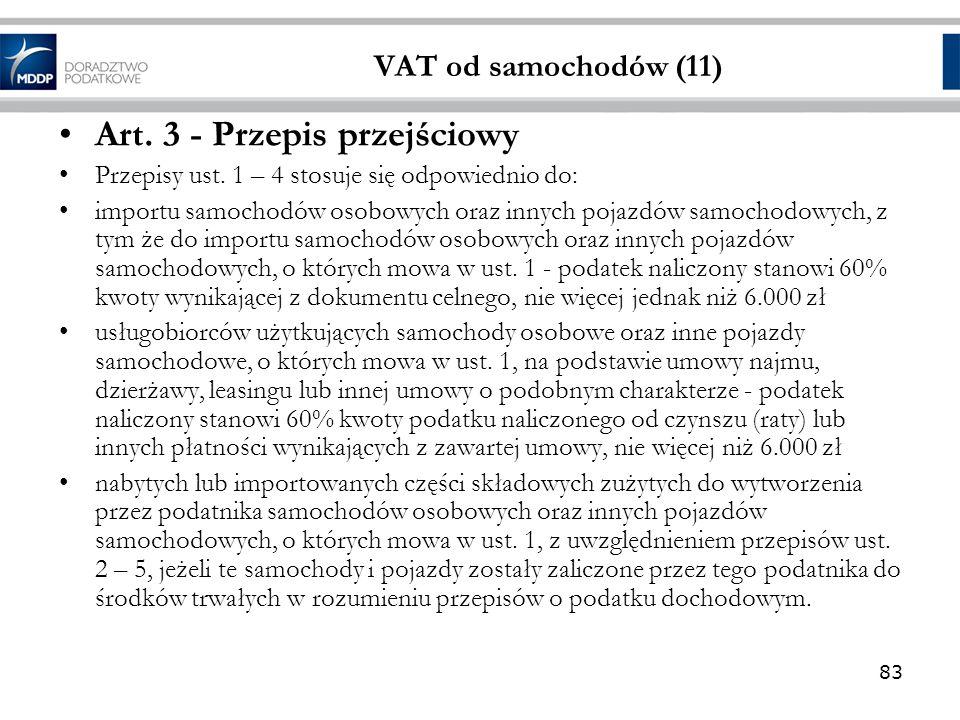 Art. 3 - Przepis przejściowy