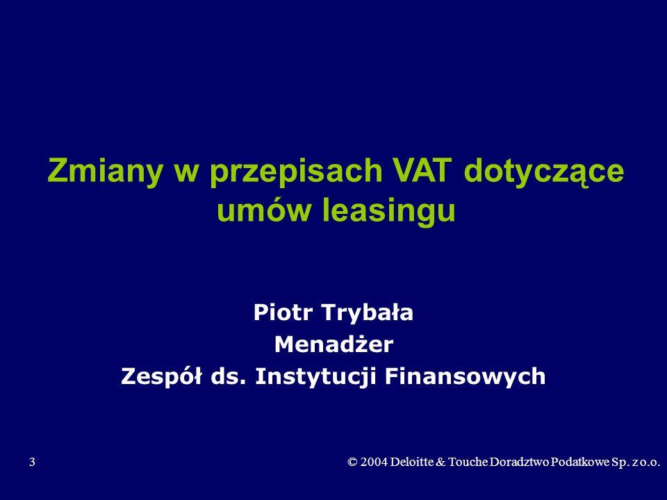 Zmiany w przepisach VAT dotyczące umów leasingu