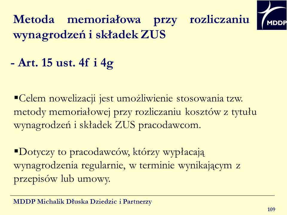 Metoda memoriałowa przy rozliczaniu wynagrodzeń i składek ZUS