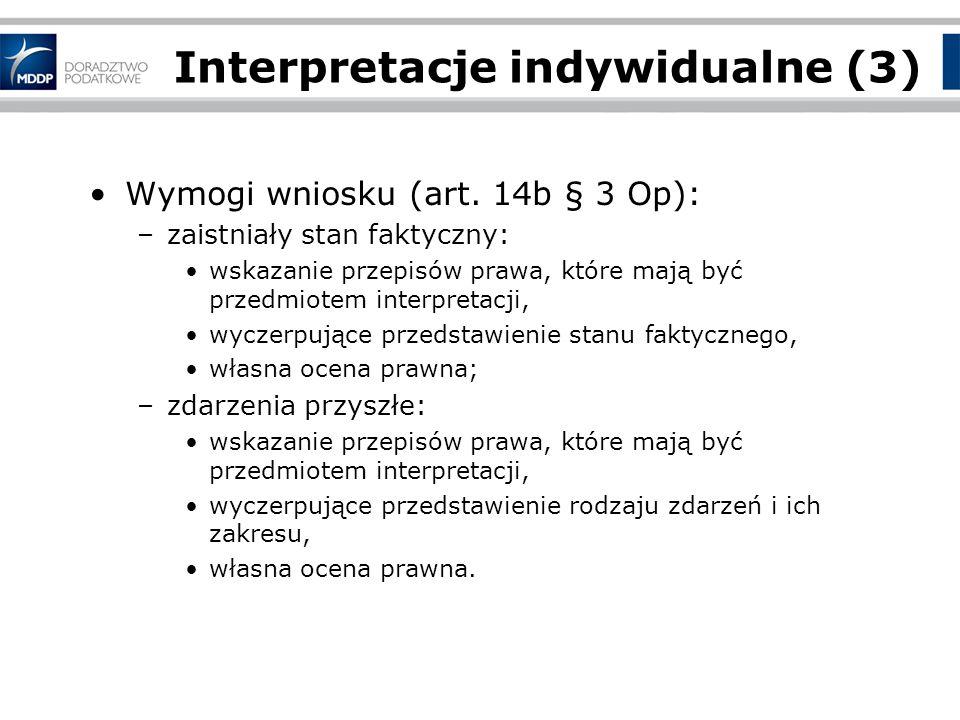 Interpretacje indywidualne (3)