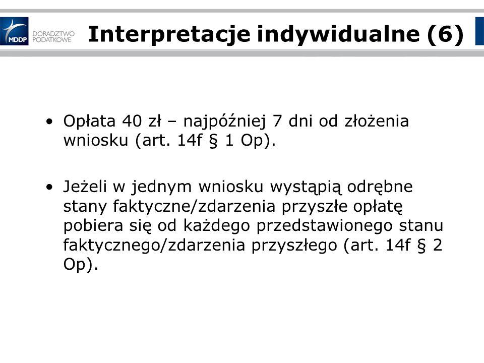 Interpretacje indywidualne (6)