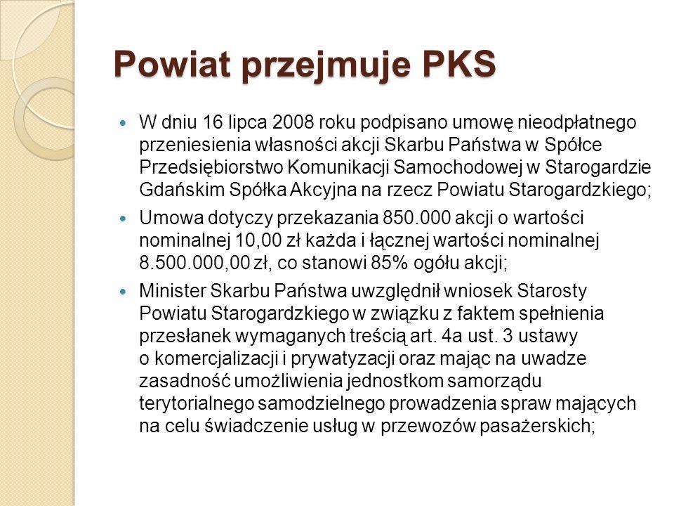 Powiat przejmuje PKS