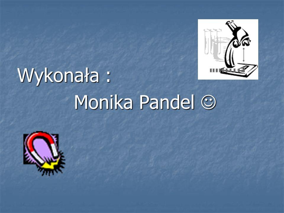 Wykonała : Monika Pandel 