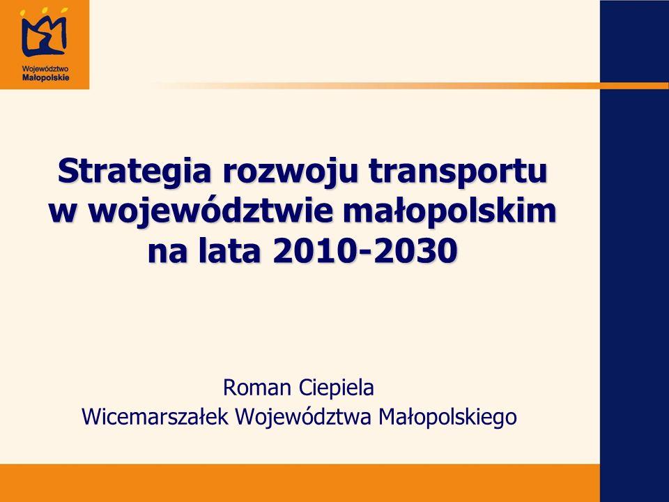 Roman Ciepiela Wicemarszałek Województwa Małopolskiego