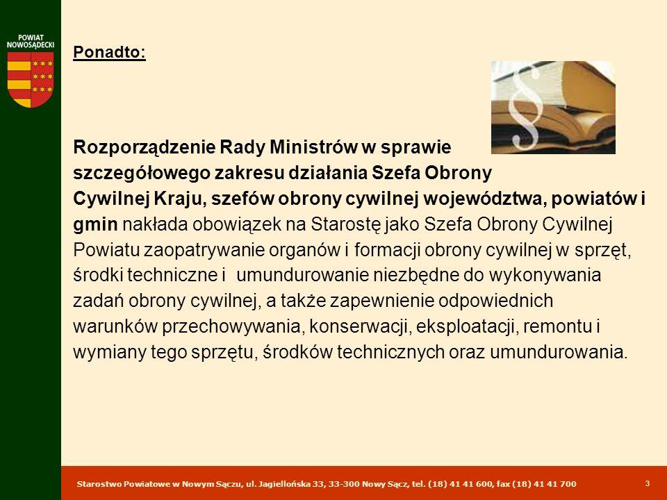 Rozporządzenie Rady Ministrów w sprawie