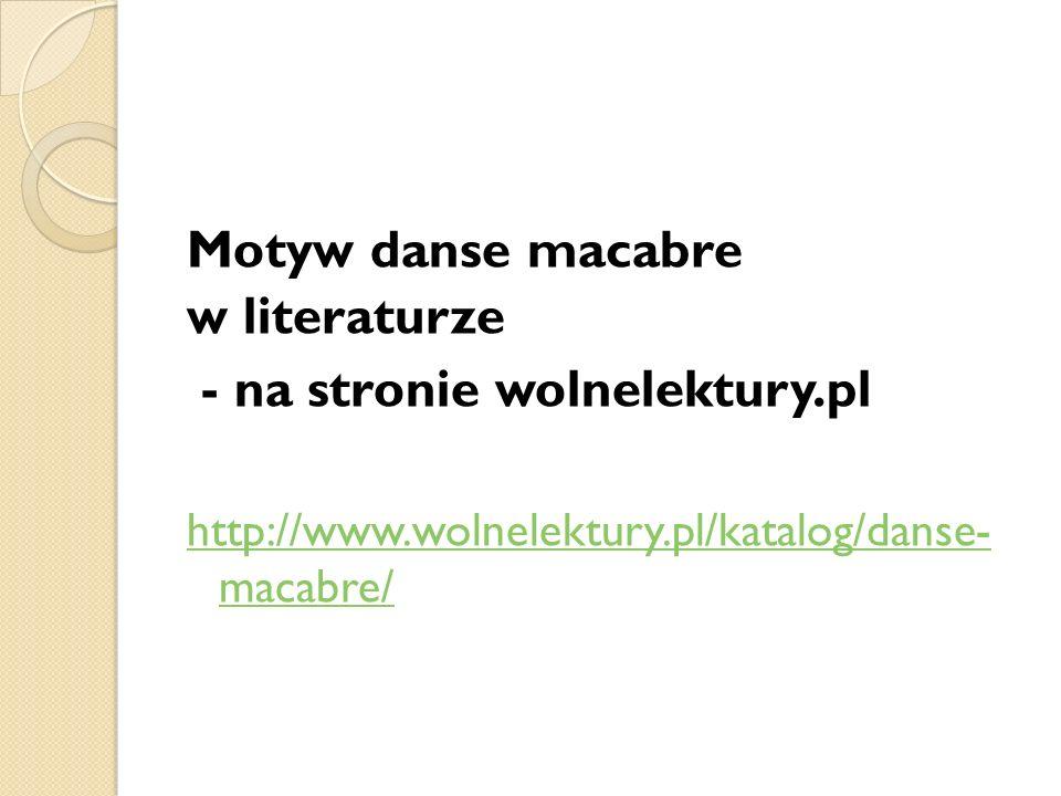 - na stronie wolnelektury.pl