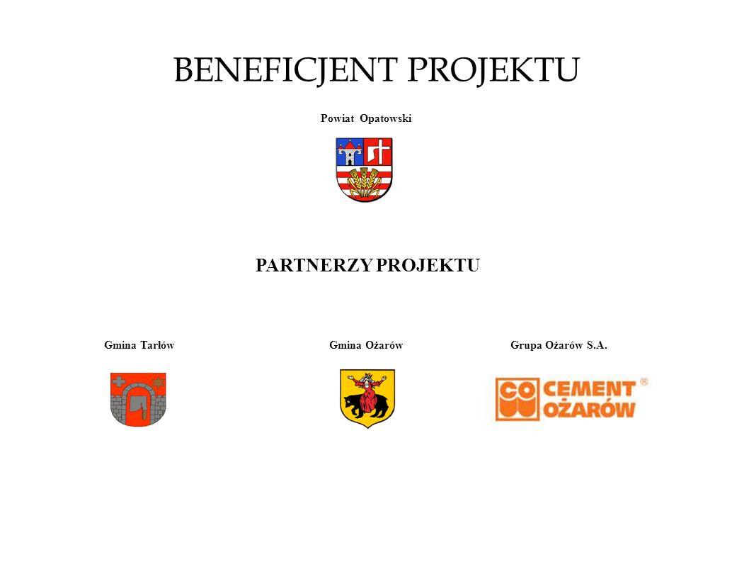 BENEFICJENT PROJEKTU PARTNERZY PROJEKTU Powiat Opatowski Gmina Tarłów