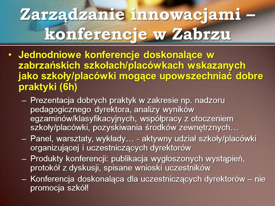 Zarządzanie innowacjami – konferencje w Zabrzu