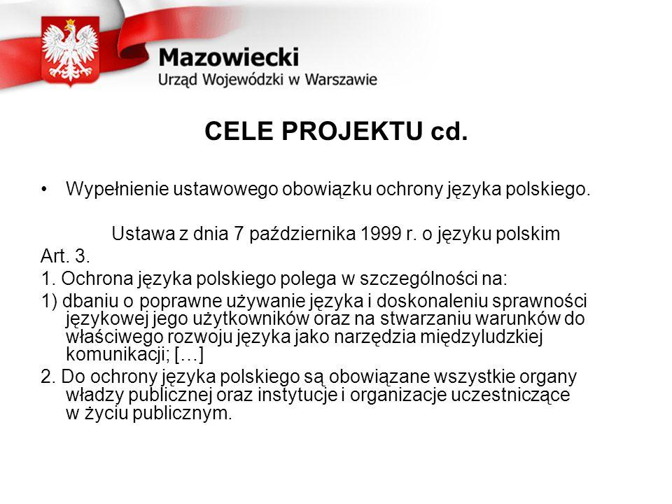 Ustawa z dnia 7 października 1999 r. o języku polskim
