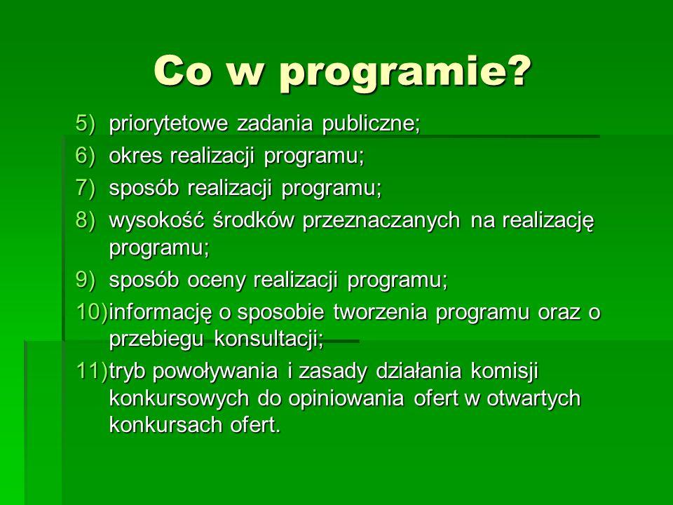 Co w programie priorytetowe zadania publiczne;
