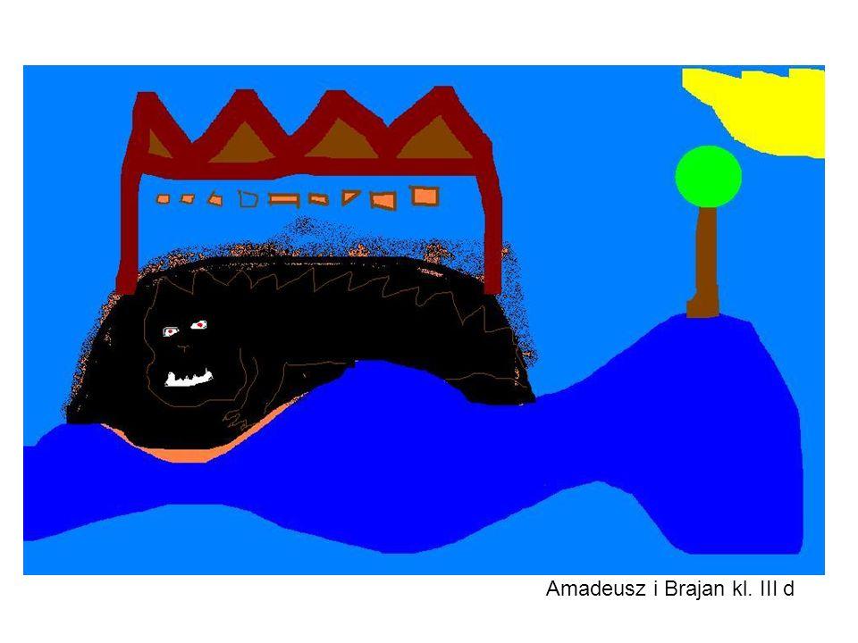 Amadeusz i Brajan kl. III d