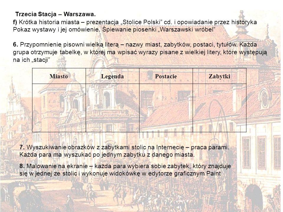 Trzecia Stacja – Warszawa.