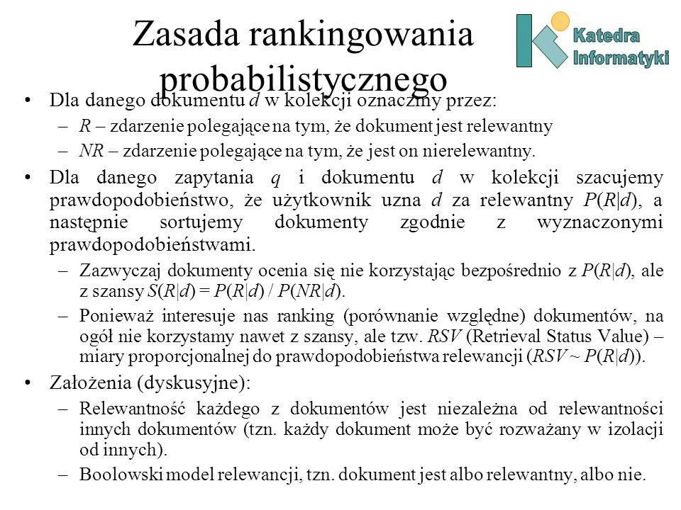 Zasada rankingowania probabilistycznego
