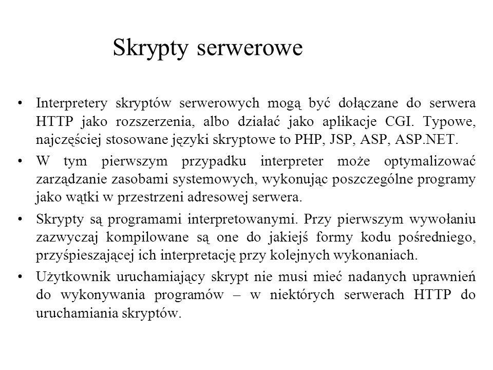 Skrypty serwerowe