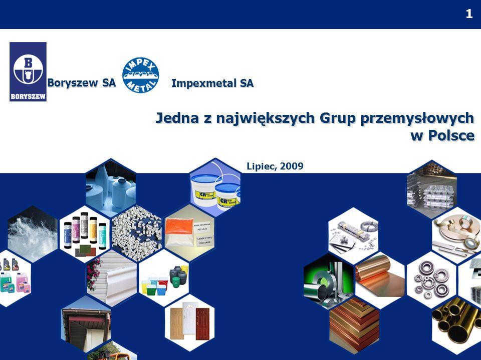Jedna z największych Grup przemysłowych w Polsce