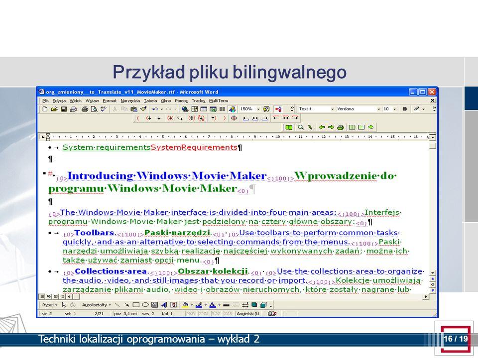 Przykład pliku bilingwalnego