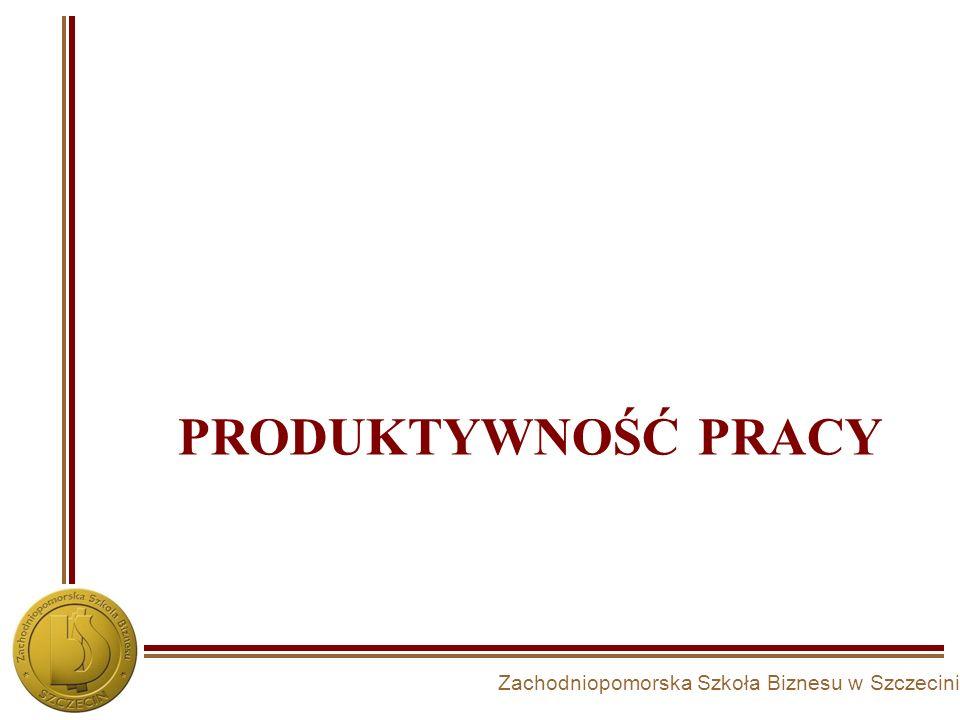 Produktywność pracy