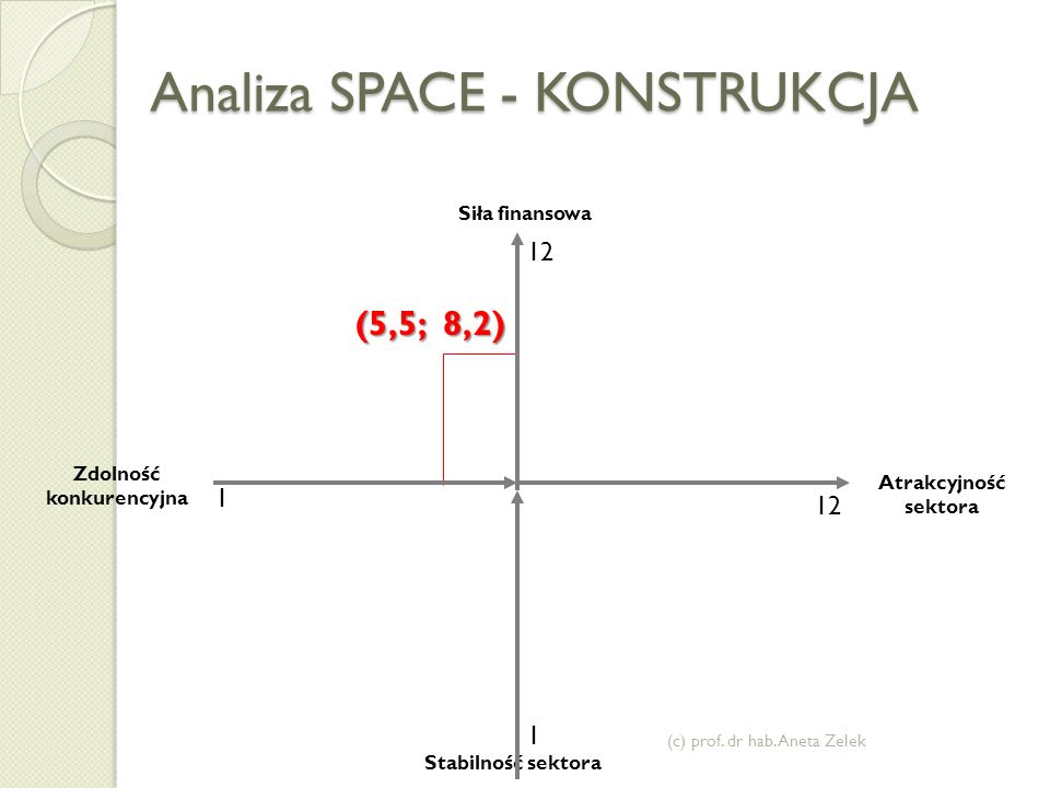 Analiza SPACE - KONSTRUKCJA