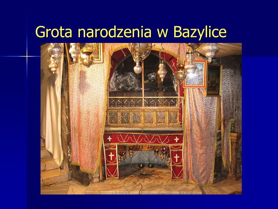 Grota narodzenia w Bazylice
