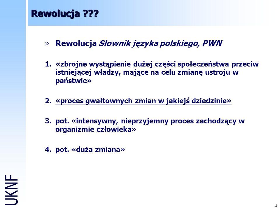 Rewolucja Rewolucja Słownik języka polskiego, PWN