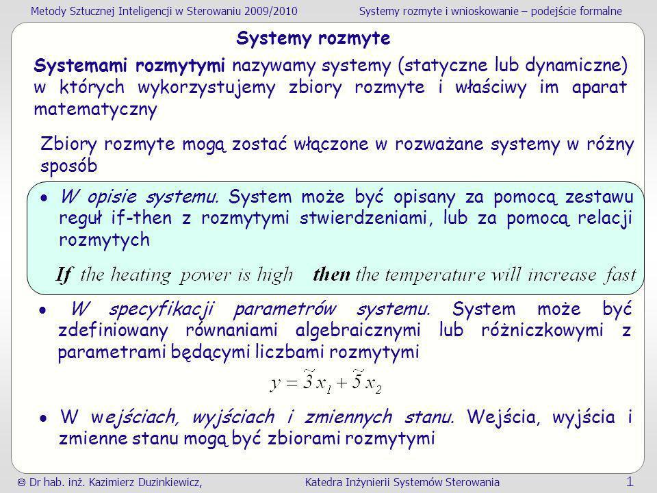 Systemy rozmyte