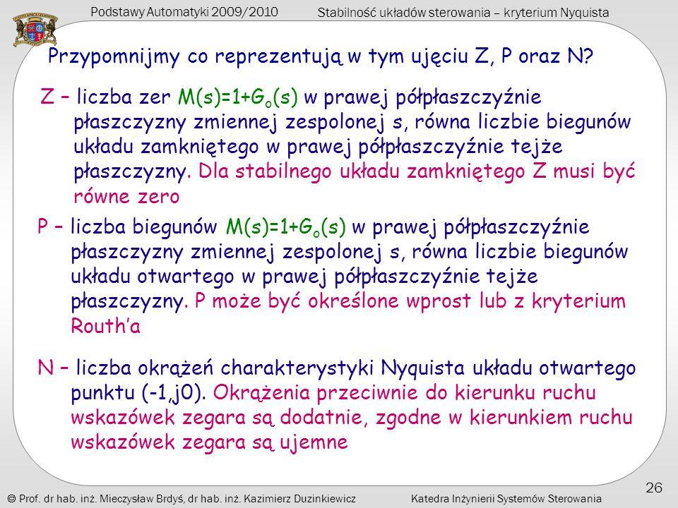Przypomnijmy co reprezentują w tym ujęciu Z, P oraz N