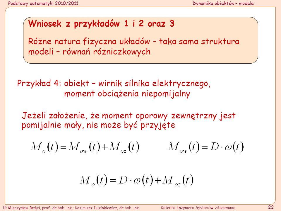 Wniosek z przykładów 1 i 2 oraz 3