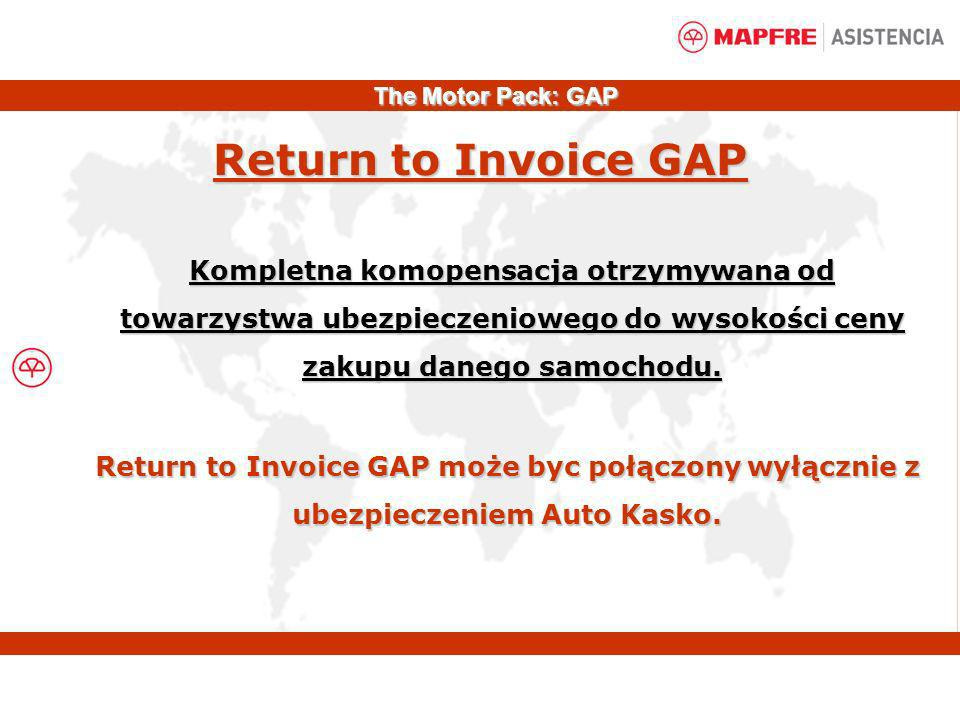 The Motor Pack: GAPReturn to Invoice GAP.
