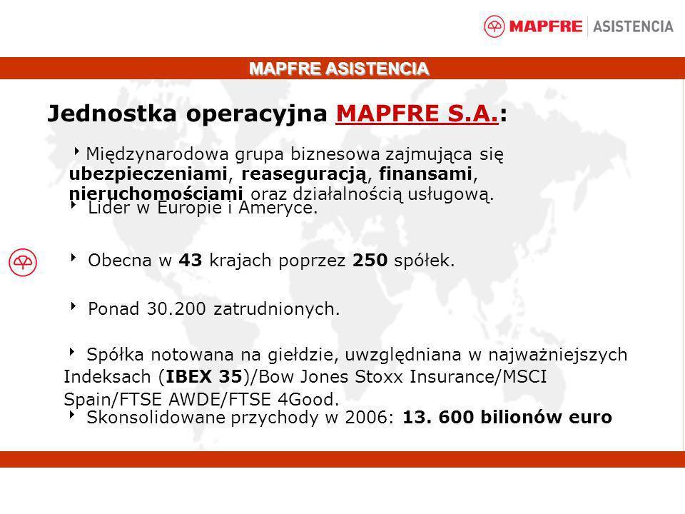 Jednostka operacyjna MAPFRE S.A.: