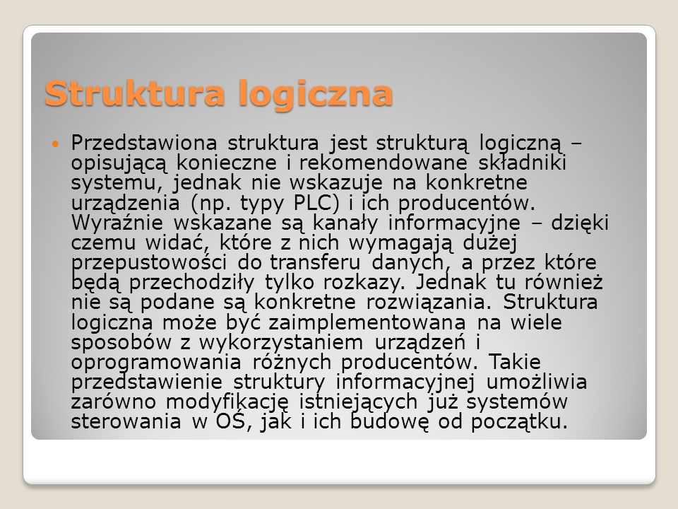 Struktura logiczna