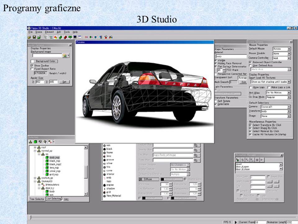 Programy graficzne 3D Studio