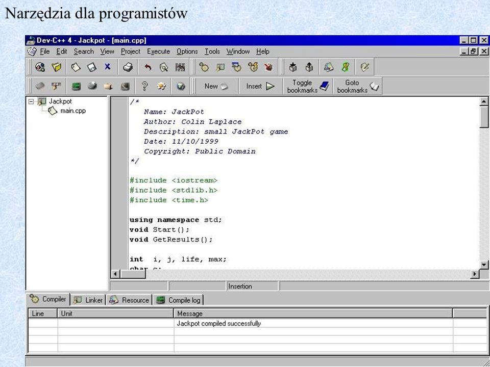 Narzędzia dla programistów