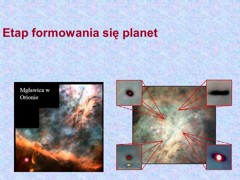 Etap formowania się planet
