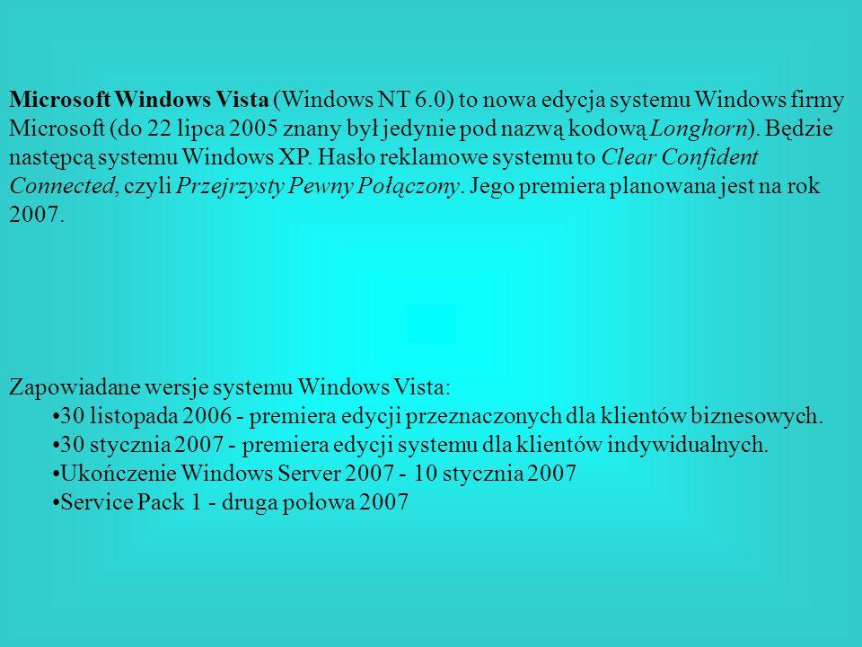Microsoft Windows Vista (Windows NT 6