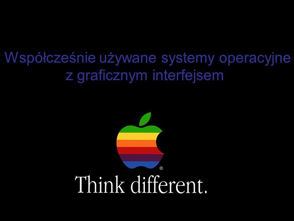 Współcześnie używane systemy operacyjne