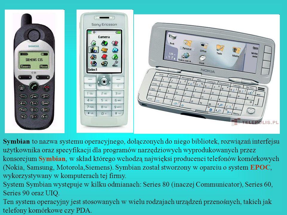 Symbian to nazwa systemu operacyjnego, dołączonych do niego bibliotek, rozwiązań interfejsu użytkownika oraz specyfikacji dla programów narzędziowych wyprodukowanych przez konsorcjum Symbian, w skład którego wchodzą najwięksi producenci telefonów komórkowych (Nokia, Samsung, Motorola,Siemens). Symbian został stworzony w oparciu o system EPOC, wykorzystywany w komputerach tej firmy.