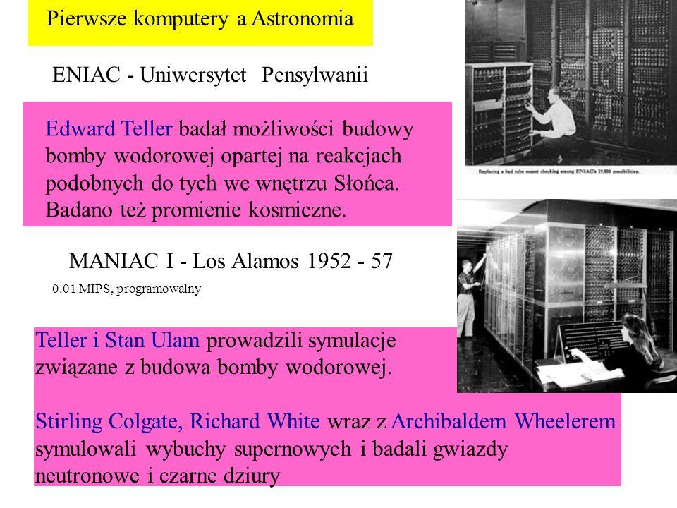 Pierwsze komputery a Astronomia