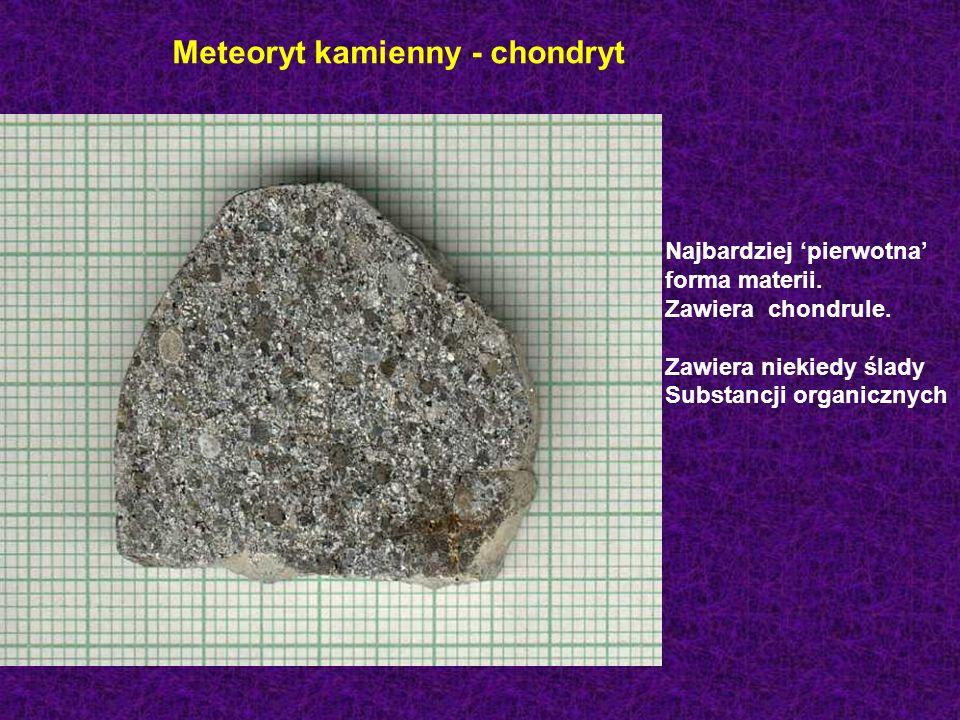 Meteoryt kamienny - chondryt
