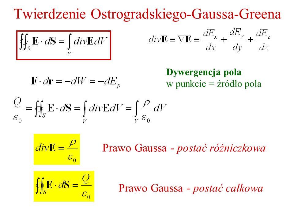 Twierdzenie Ostrogradskiego-Gaussa-Greena
