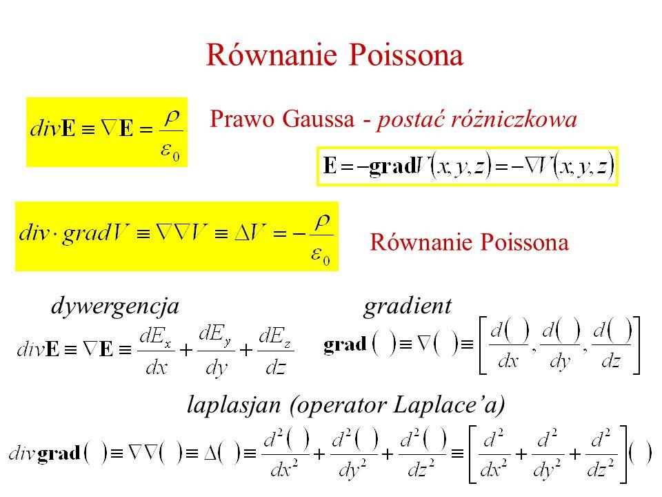 Prawo Gaussa - postać różniczkowa
