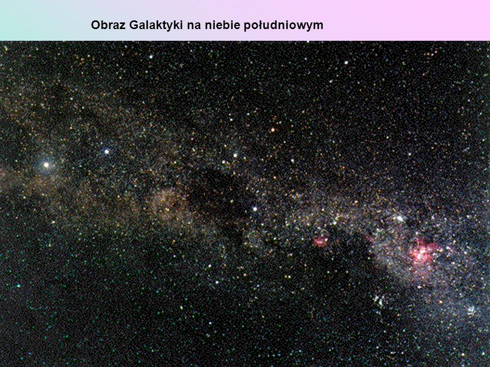 Obraz Galaktyki na niebie południowym