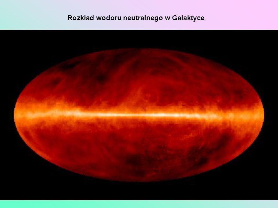 Rozkład wodoru neutralnego w Galaktyce